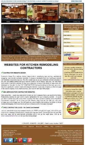 Kitchen Contractor Websites
