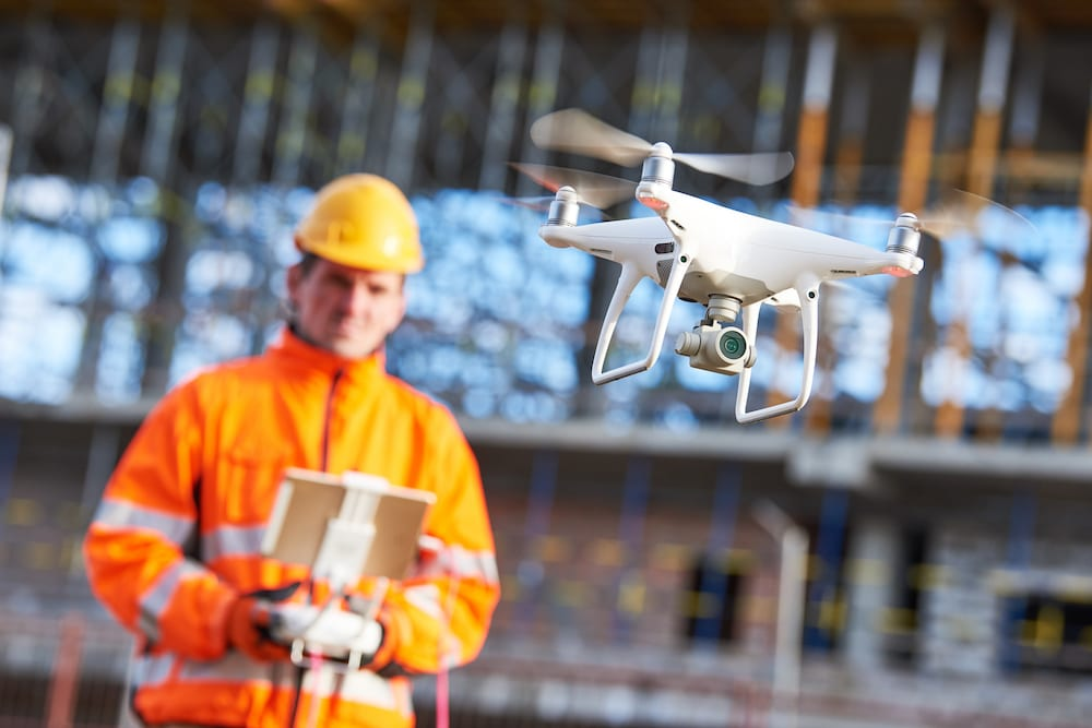 How the Use of Drone Technology Can Be Beneficial for Construction Workers