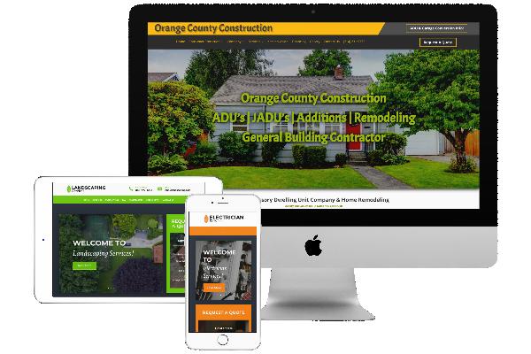 Custom Wordpress Websites for Contractors